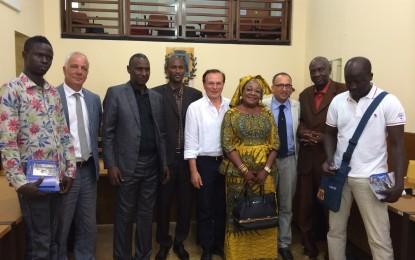 Comune di Ortona: il Sindaco accoglie una delegazione senegalese del Comune di Sam Notaire