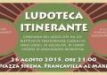 """A Francavilla arriva la """"Ludoteca itinerante"""""""