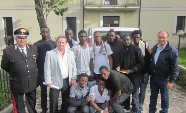 Roccamontepiano, accolti i primi 10 profughi
