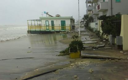 Costa teatina flagellata dal maltempo, Confcommercio Chieti chiede l'intervento immediato della Regione
