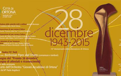 Ortona, torna il Premio 28 dicembre