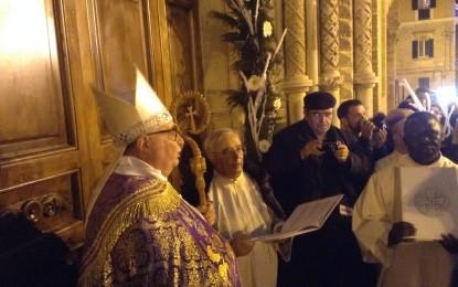 Aperta la Porta Santa della Cattedrale di San Tommaso Apostolo