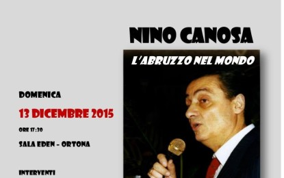 Alla Sala Eden omaggio al cantante ortonese Nino Canosa