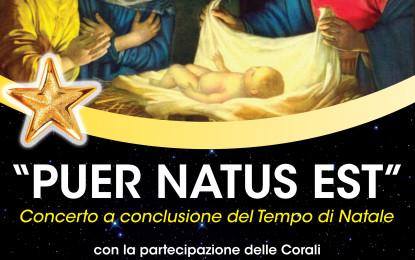 "Concerto ""Peur Natus Est"" domenica 10 gennaio a Francavilla"