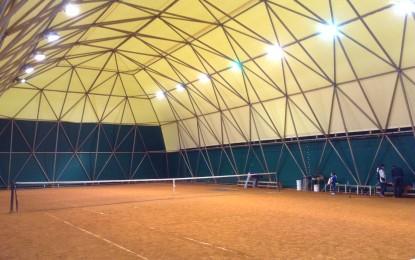 Terminati i lavori di copertura  al Circolo Tennis di Ortona