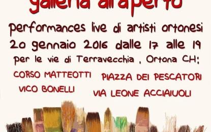 """Ortona, per San Sebastiano """"Mostrarti galleria all'aperto"""" a Terra Vecchia"""