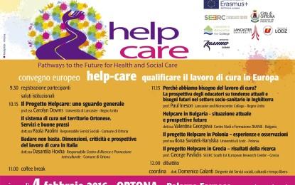 Ortona ospita il summit  europeo Help Care. Unico appuntamento italiano