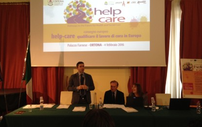 Summit europeo su Help Care con la partecipazione dell'assessore regionale Paolucci