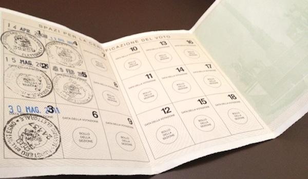 Francavilla: rilascio tessera elettorale