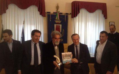 Ortona: il Maestro Beppe Vessicchio premiato dall'amministrazione comunale