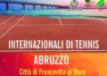 Francavilla: dal 22 al 30 aprile gli Internazionali di tennis d'Abruzzo