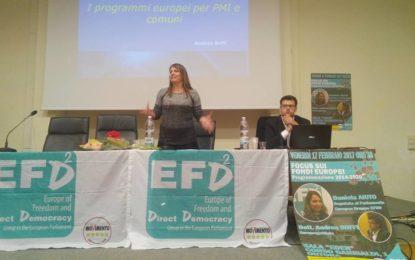 Ortona: il gruppo Amici di Beppe Grillo alla sala Eden per parlare di fondi europei