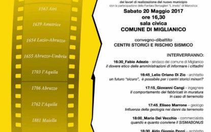 """A Miglianico convegno sul """"Sisma Bonus"""""""
