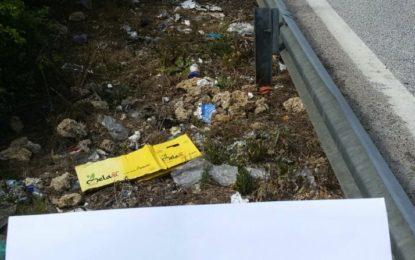"""Rifiuti abbandonati a Bucchianico, M5S """"dove sono finite le fototrappole acquistate dal nostro Comune?"""""""