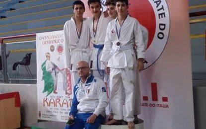 Karate, successo dei ragazzi della New Step ai campionati italiani