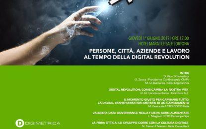 """Oggi a Ortona convegno sul tema della """"Digital Revolution"""""""