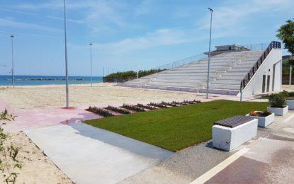 Francavilla, inaugurazione Stadio del mare
