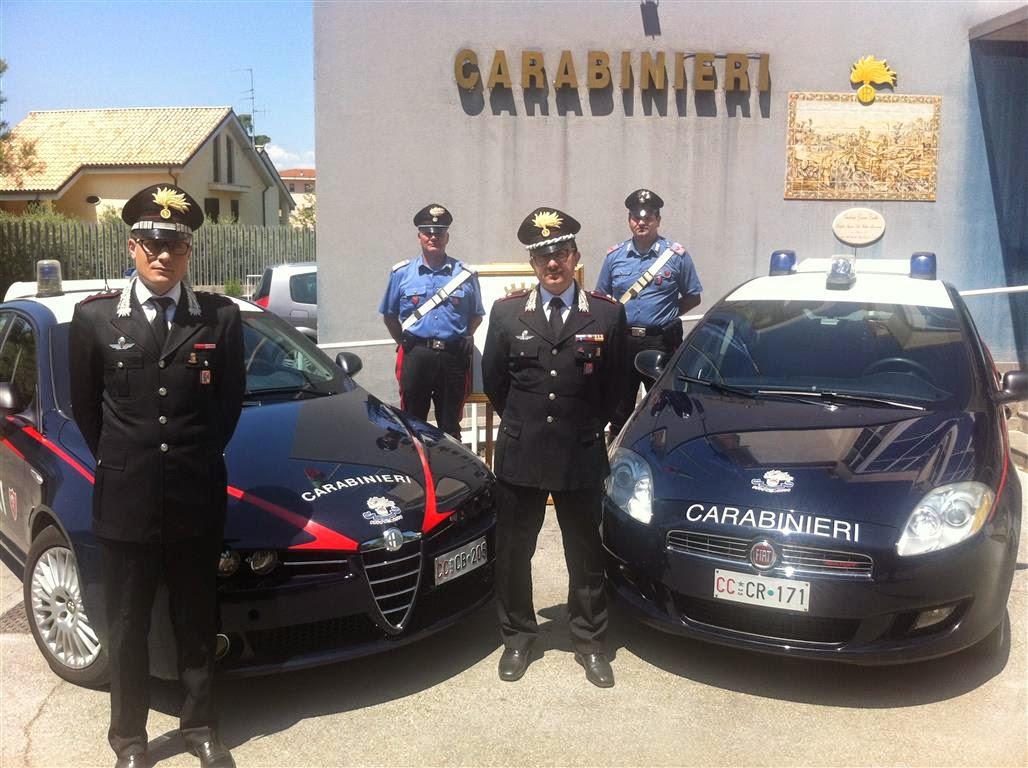 Francavilla, la caserma dei Carabinieri verrà intitolata a Giangabriele Menichini