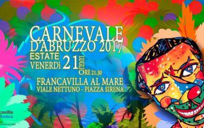 Francavilla, torna il Carnevale Estivo: il programma della serata