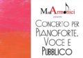 Francavilla, un concerto per pianoforte, voce e pubblico organizzato dai Moti Armonici