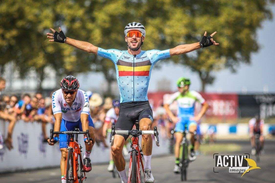 Campionati del mondo UCI Granfondo, l'abruzzese Manuel Fedele conquista il secondo posto