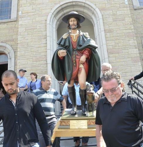 In Canada la comunità dei roccolani ha festeggiato San Rocco