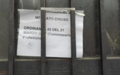 Ortona, mercato coperto: gli ambulanti restano al Ciavocco