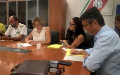 Ortona: firmato accordo porti ri-puliti in Regione
