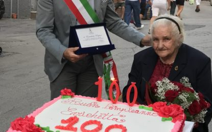 Villa Caldari festeggia i 100 anni di Errica Rapino