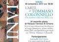 Al Farnese recital di poesia per la fine della mostra su Tommaso Colonnello