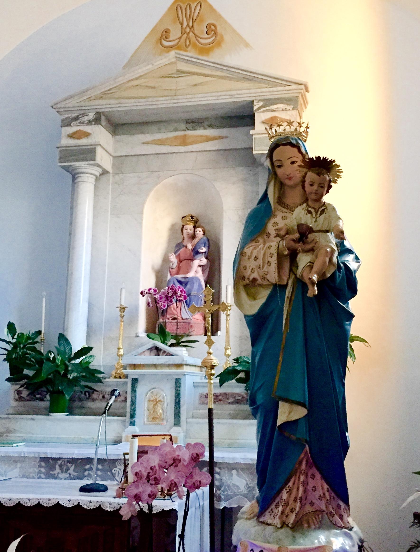 Roccamontepiano, via ai festeggiamenti della Madonna delle Grazie