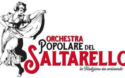 Bucchianico, appuntamento con il concerto dell'Orchestra Popolare del Saltarello
