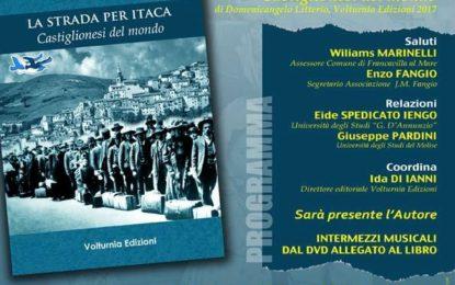 """Francavilla, presentazione del libro """"La strada per Itaca"""" di Domenicangelo Litterio"""