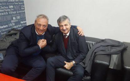 Francavilla Calcio: pace fatta tra il sindaco Luciani e il presidente Candeloro