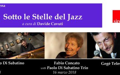 Torna il grande jazz a Francavilla. Concato e Di Sabatino sul palco del palazzo Sirena