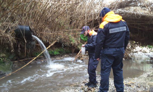 Scarichi abusivi nel torrente Peticcio: sanzione all'ente gestore