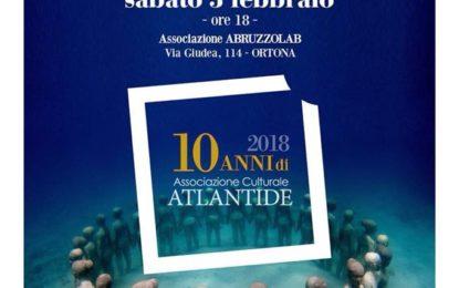 Veneziani nella sede di Abruzzo Lab per presentare il suo nuovo libro