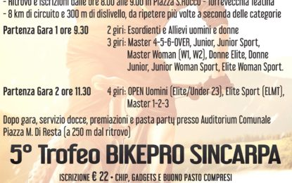 Domenica a tutta mountain bike a Torrevecchia Teatina