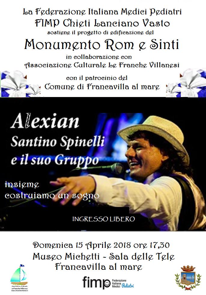 A Francavilla concerto di Santino Spinelli per contrastare il razzismo