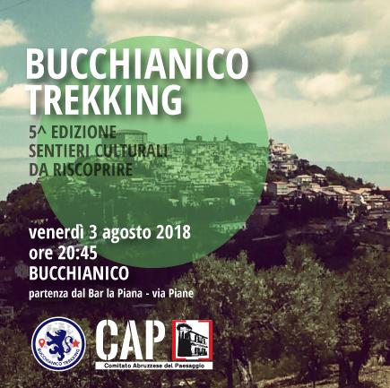 "Venerdì 3 agosto torna ""Bucchianico Trekking"""