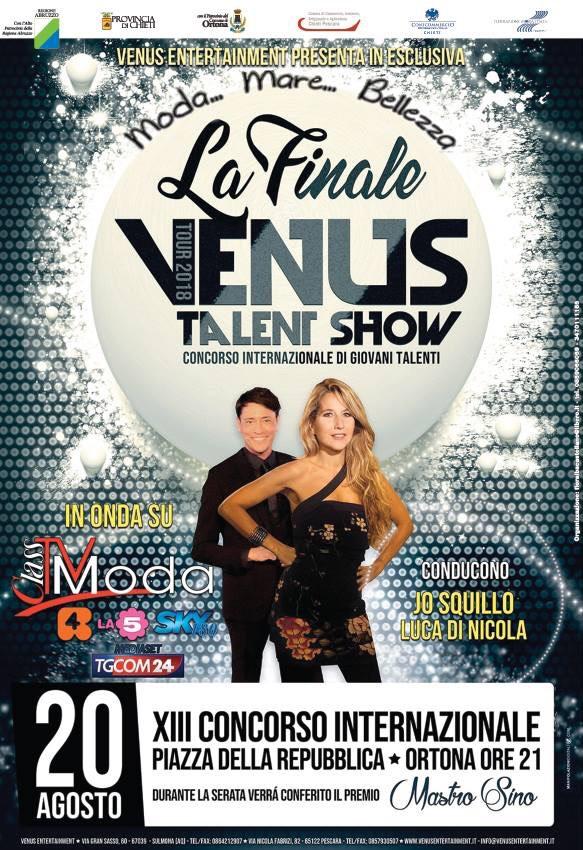 Ad Ortona torna la il Venus Talent Show