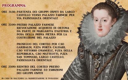 Domenica a Ortona rievocazione storica in onore di Margherita d'Austria