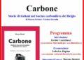 """L'associazione Buendia presenta il libro """"Carbone"""" di Moreno Bernini"""