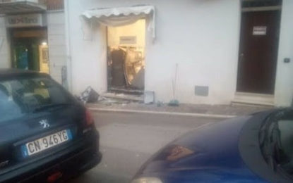 Tollo, rapina alla banca: presi 18mila euro