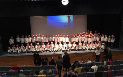Grandi emozioni con i cori natalizi dell'istituto Masci