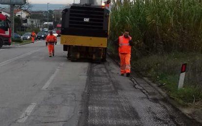 """Asfalto SP23, Nunziato e Paolucci insoddisfatti: """"Lavori eseguiti in modo approssimativo"""""""