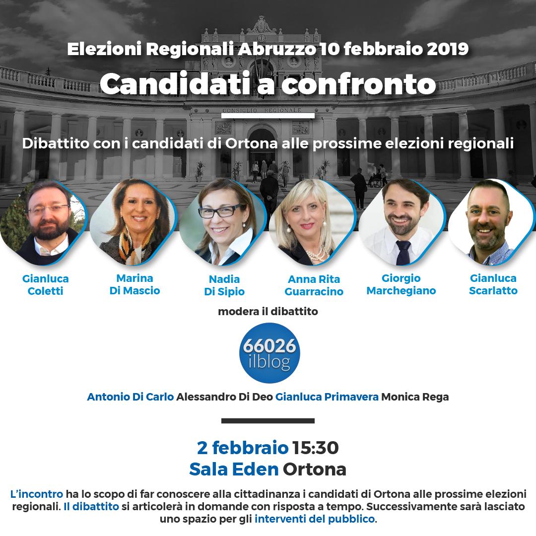 A Ortona incontro tra i candidati al consiglio regionale