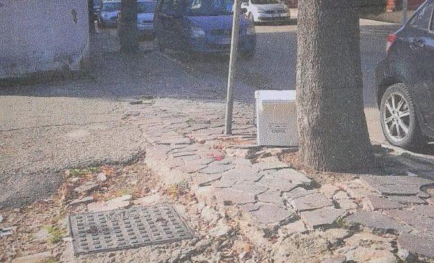 A breve i lavori sui marciapiedi in via della Rinascita