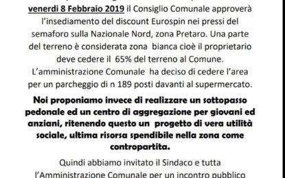 Nuovo discount in zona Pretaro: domani incontro con l'amministrazione
