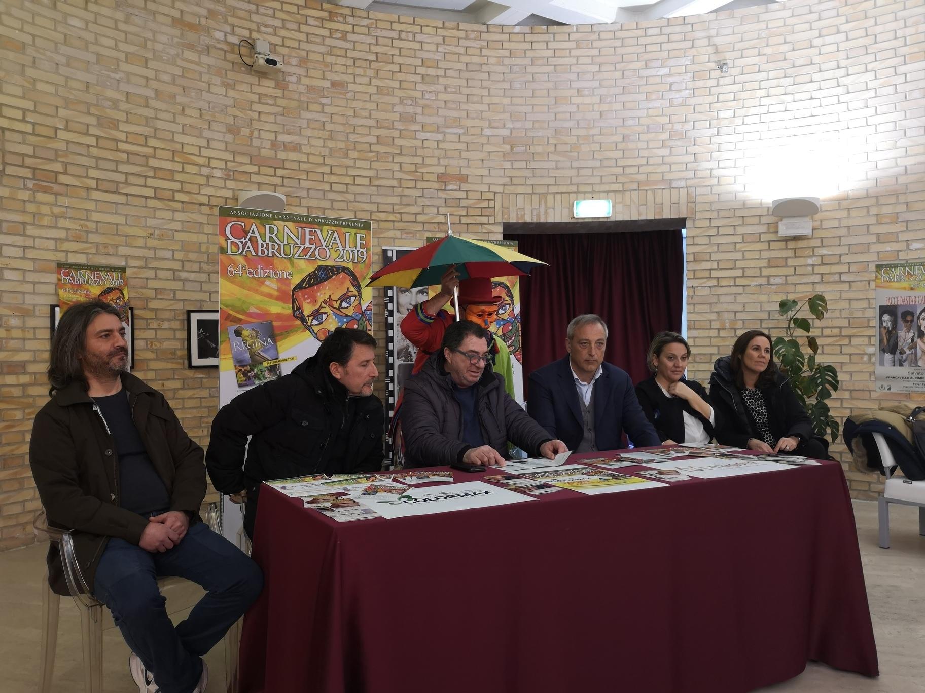 Carnevale d'Abruzzo, torna la kermesse colorata di Francavilla